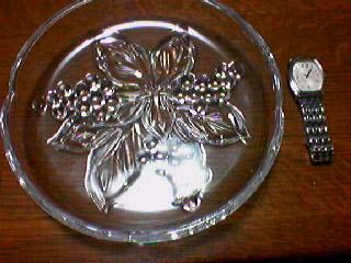 ガラスの皿とデヴィル
