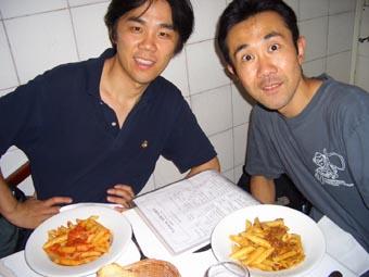 青山さんと夕食