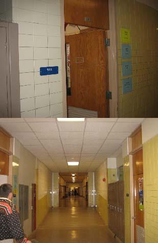 日本語教室311と廊下