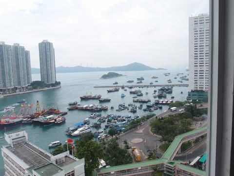 香港 アバディーン まなみヨガ