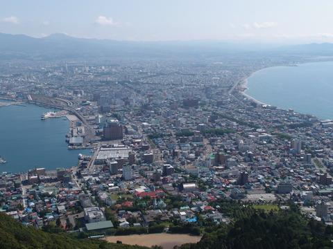函館山 トレッキング 登山 まなみヨガ