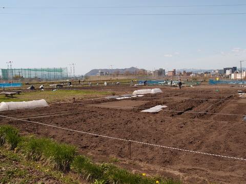 函館 市民農園4 ナチュラルライフ