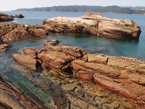 高知 竜串海岸2 きれいな海