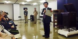 《第59回レコードコンサート》菅野さん、岡田さん、青木さん