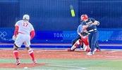 上野投手ラストバッターに投げてキャッチャーフライ