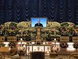 遠藤市助さん葬儀祭壇
