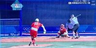 上野由岐子投手ピッチング