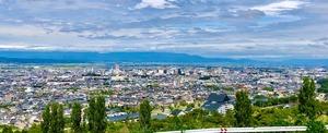 山形市中桜田から市街地2020913