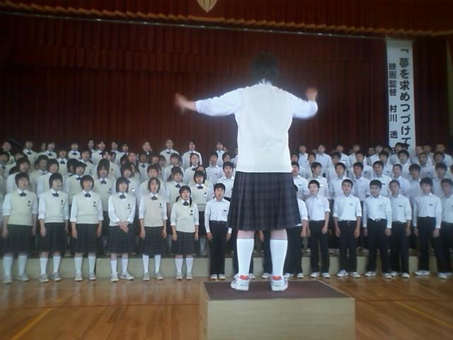 村川透監督、母校で感激!そして、村川組。 : 荒井幸博TODAY