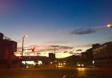 9月19日夜明け山形市城西