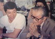 荒井幸博・野口久光さんと1992・7
