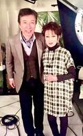 浅丘ルリ子さんと『やすらぎの郷』撮影現場2017・1・12