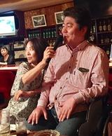 木田さん「竹」を唄う知恵子さん
