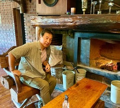 「Forest inn SANGORO」暖炉