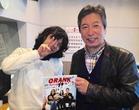 峯田和伸さんと荒井FM山形スタジオ