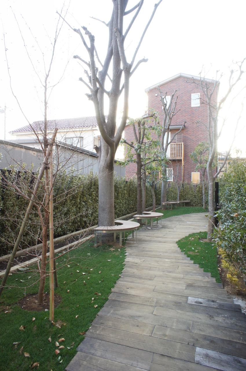 自転車の 大宮 自転車置き場 : コモンガーデンの一部には菜園 ...