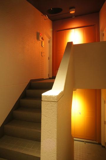 階段室(夜景)