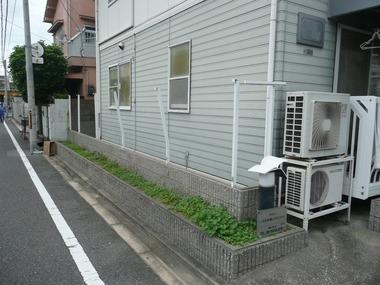 フェンス台風被害
