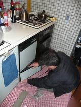 ビルトイン食洗機の交換