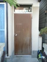 玄関ドア取替前