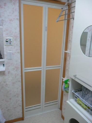バスピア浴室折戸