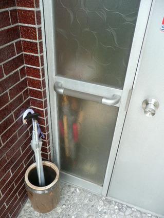 玄関ドア手すり