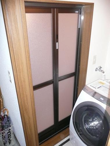 浴室折戸交換