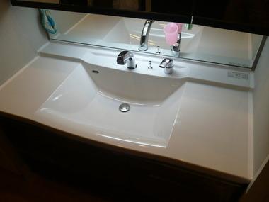 タカラ洗面台
