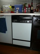 ビルトイン食洗機工事完了
