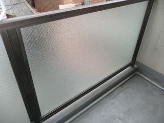ガラス交換