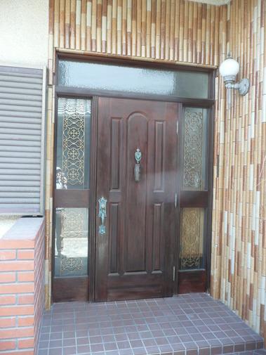 旧ヤマハ玄関ドア