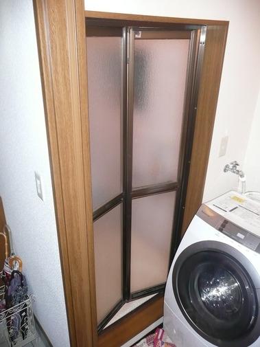 新日軽浴室折戸