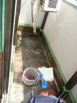 ベランダ防水ガラスマット