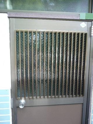 ドア用面格子