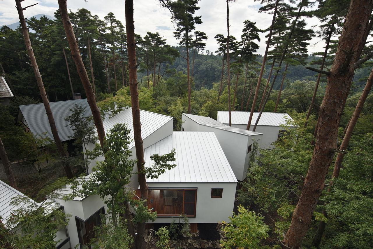 34 森の中に建つ、自然と共存する注文住宅  建築家が設計した