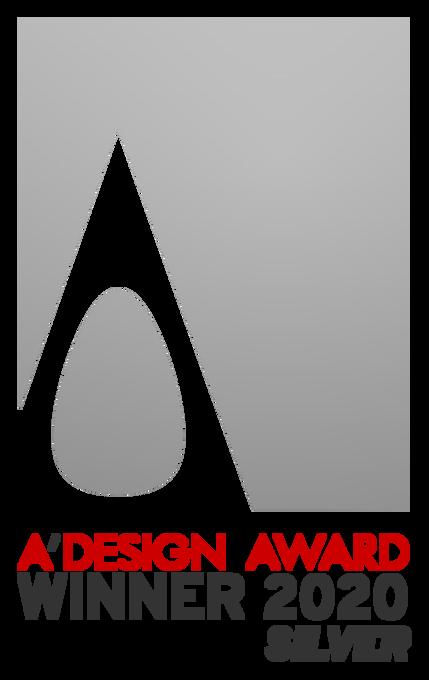 イタリアのデザインアワードA'DESIGN AWARDを受賞