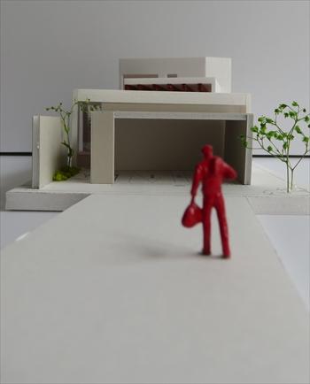 長野県:長野の家 再度模型