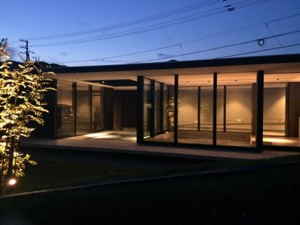 鳴門の家夜景