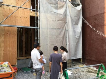 大阪:上本町の家2 現場打合