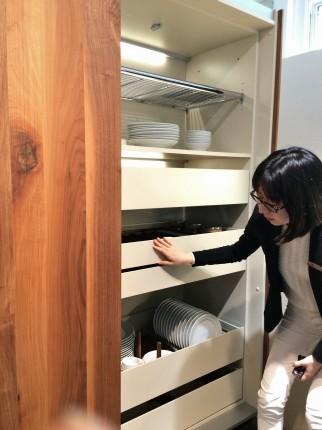 高松の家キッチン打ち合わせ
