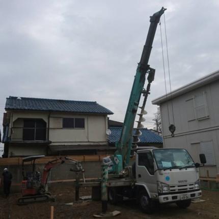 堺の家地盤改良