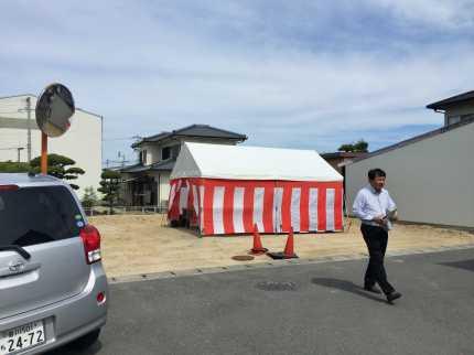香川高松の家地鎮祭