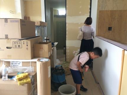 愛媛の家工事中