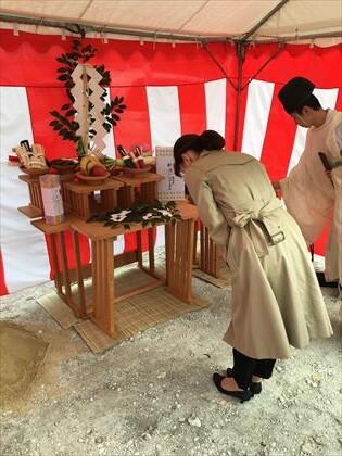 京都:事務所ビル 地鎮祭