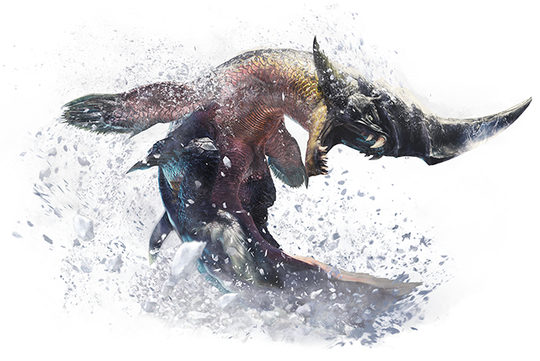 MHWIB_凍魚竜ブラントドス