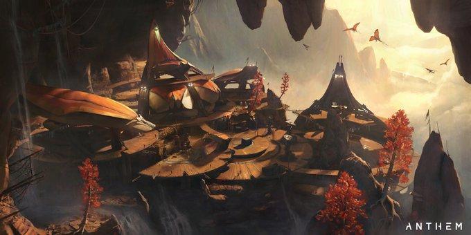 バイオウェア『ANTHEM』新たなロケーション等が確認できるコンセプトアートを公開!海賊がテーマの新たな敵勢力が登場か
