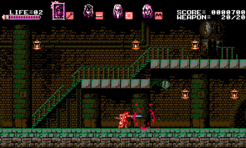 Bloodstained:Curse of the Moon(6)