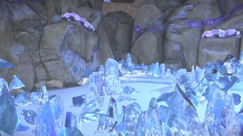 氷ステージ