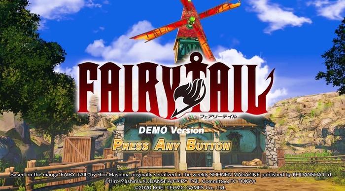 フェアリーテイル_ゲームプレイ映像