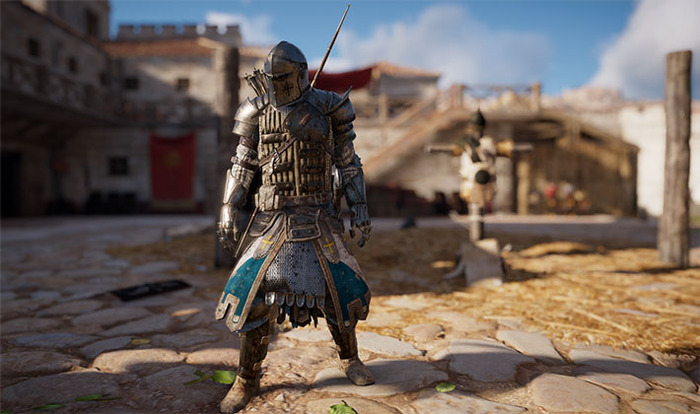 Warden's Oath Outfit